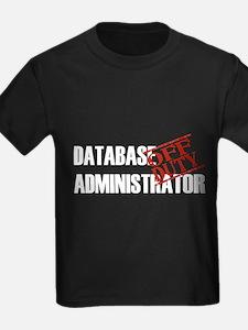 Off Duty Database Admin T