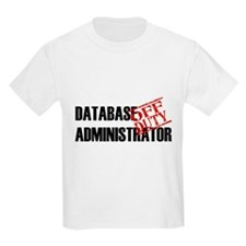 Off Duty Database Admin T-Shirt