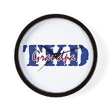 TKD Grandpa Wall Clock