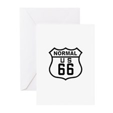 Normal Route 66 Greeting Cards (Pk of 10)