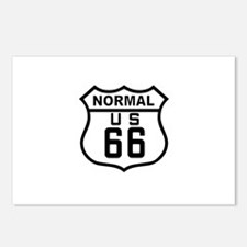 Normal Route 66 Postcards (Package of 8)