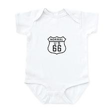 Normal Route 66 Infant Bodysuit