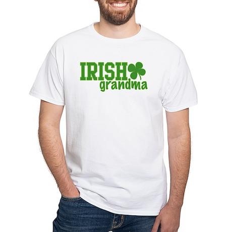 Irish Grandma White T-Shirt