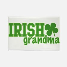Irish Grandma Rectangle Magnet