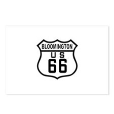 Bloomington Route 66 Postcards (Package of 8)