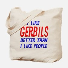 I Like Gerbils Tote Bag