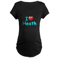 I Love Heath (Lt Blue) T-Shirt