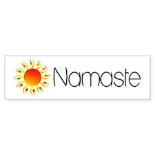 Namaste Sun 2 Bumper Bumper Sticker