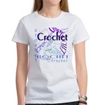 Crochet Purple Women's T-Shirt