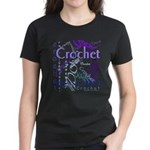 Crochet Purple Women's Dark T-Shirt
