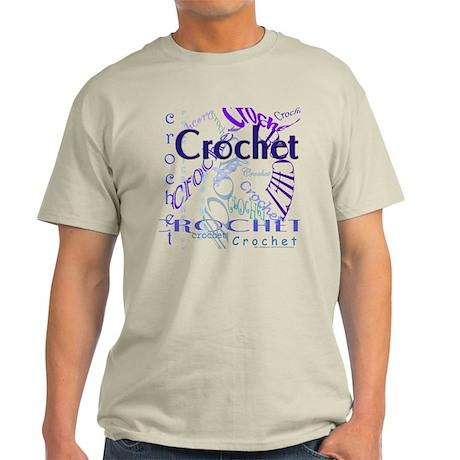 Crochet Purple Light T-Shirt