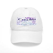 Crochet Purple Baseball Baseball Cap