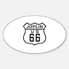 Joplin Route 66 Oval Decal