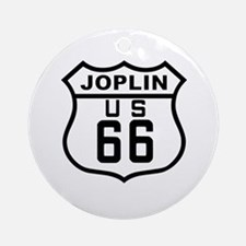 Joplin Route 66 Ornament (Round)
