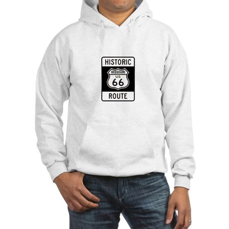 Missouri Historic Route 66 Hooded Sweatshirt