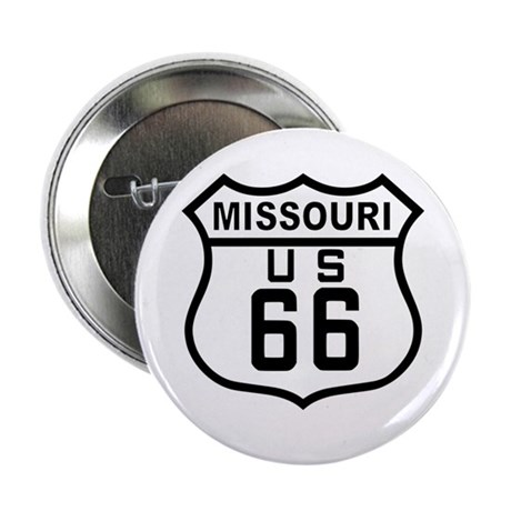 "Missouri Route 66 2.25"" Button"