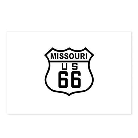Missouri Route 66 Postcards (Package of 8)