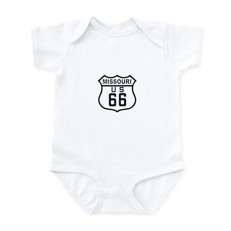 Missouri Route 66 Infant Bodysuit