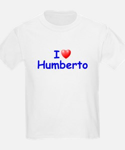 I Love Humberto (Blue) T-Shirt