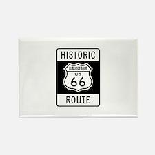 Albuquerque Route 66 Rectangle Magnet (10 pack)