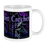 Crochet Purple Mug