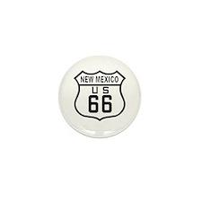 New Mexico Route 66 Mini Button (10 pack)