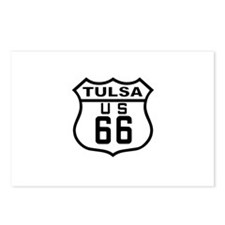 Tulsa Route 66 Postcards (Package of 8)