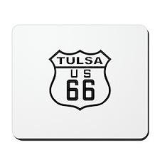Tulsa Route 66 Mousepad