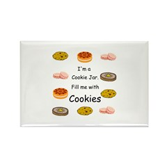 Cookies Rectangle Magnet