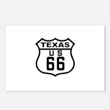 Texas Route 66 Postcards (Package of 8)