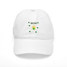 Irish Beer Shamrocks Baseball Cap