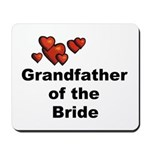 Grandfather of the Bride Mousepad