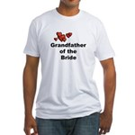 Grandfather of the Bride Fitted T-Shirt