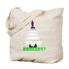 Dog's View Tote Bag