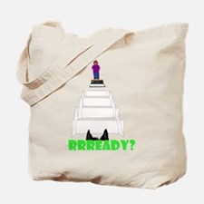 Dog's View Tote Bag