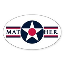 Mather Air Force Base Oval Decal