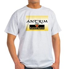 Antrim GAA Ash Grey T-Shirt