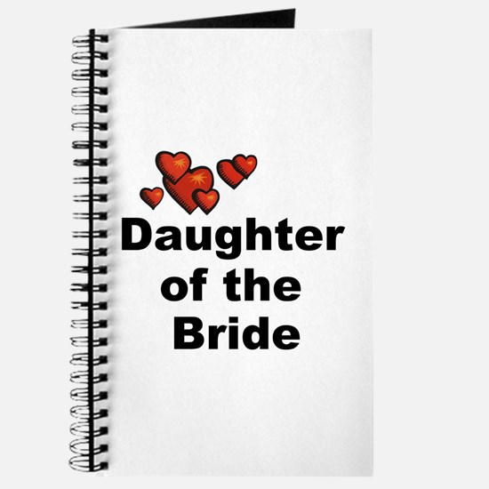 Hearts Daughter of the Bride Journal