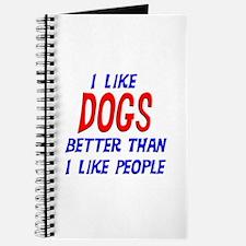 I Like Dogs Journal