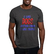 I Like Dogs T-Shirt