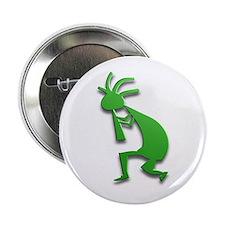 """One Kokopelli #79 2.25"""" Button"""