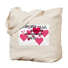 Cute D v s Tote Bag