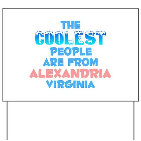 Coolest: Alexandria, VA Yard Sign