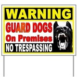 German shepherd Yard Signs