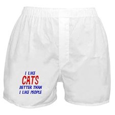 I Like Cats Boxer Shorts