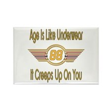 Funny 88th Birthday Rectangle Magnet