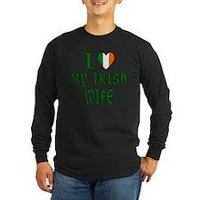 I Love My Irish Wife T