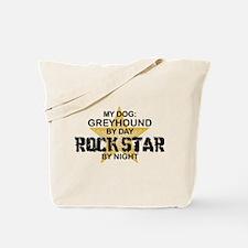 Greyhound RockStar Tote Bag