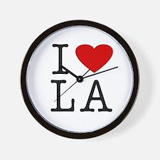 I Love Louisiana (LA) Wall Clock