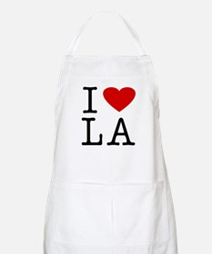 I Love Louisiana (LA) BBQ Apron